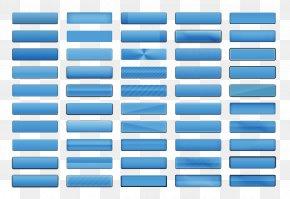 Blue Line Button Strip PNG
