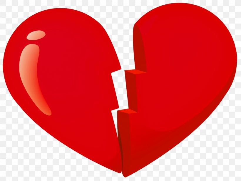 Broken Heart Clip Art, PNG, 1483x1114px, Watercolor, Cartoon, Flower, Frame, Heart Download Free