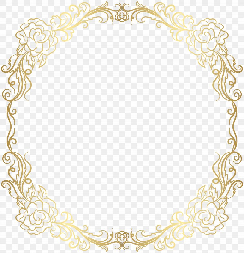 Text Picture Frame Yellow Area Pattern, PNG, 7701x8000px, Personal Identification Number, Arabesque, Area, Border, Gold Download Free