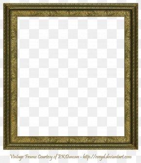 Square Frame Transparent Image - Picture Frame Square Clip Art PNG