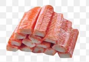 Frozen Crab And Crab Meat Rolls - Sushi Crab Meat Seafood Hot Pot PNG
