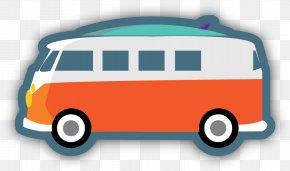 Public Transport Minibus - Bus Cartoon PNG