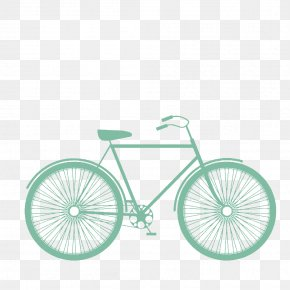 Creative Bike - Fixed-gear Bicycle Single-speed Bicycle Bicycle Frame Road Bicycle PNG