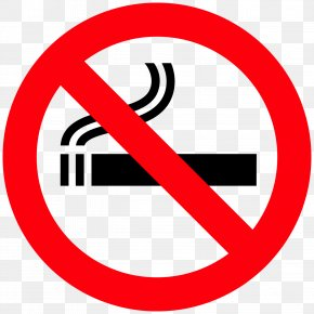 No Smoking - Sign Smoking Ban Clip Art PNG
