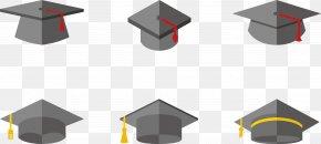 Bachelor Cap Master Cap - Square Academic Cap Graduation Ceremony Hat PNG