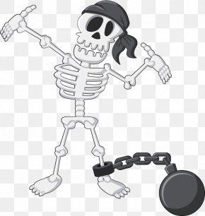 Skeleton Demon - Skeleton Cartoon Bone PNG