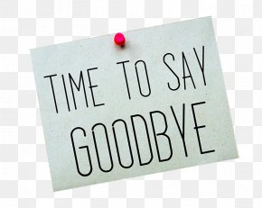 Tag Goodbye - Stock Photography Royalty-free Shutterstock PNG