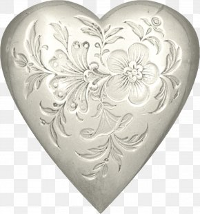 Metal Heart - Heart Love Clip Art PNG