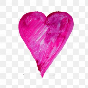 Watercolor Heart - Watercolor Painting Image Vector Graphics Clip Art PNG