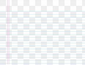 Transparent Lined School Notebook Paper Sheet Image - Paper PNG