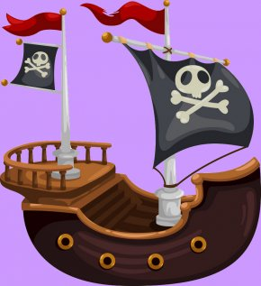 Pirate Wheel - Piracy Vector Graphics Ship Clip Art PNG