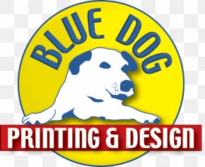 West Chester Printer Graphic Design Graphics LogoPrinting Advertising - Blue Dog Printing & Design PNG
