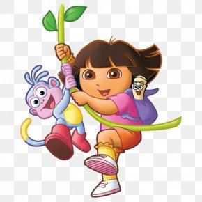 Dora The Explorer - Cartoon Television Show Clip Art PNG