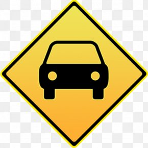 Traffic Signs - Car Traffic Sign Road Transport Icon PNG