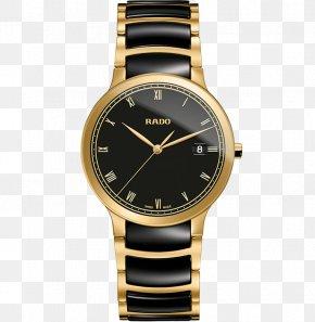 Watch - Rado Centrix Automatic Watch Rolex Day-Date PNG