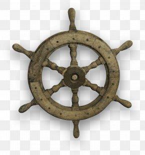 Trees Steering Wheel - Ship's Wheel Steering Wheel Car PNG