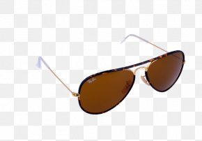 Sunglasses Aviator - Sunglasses Brown Goggles PNG