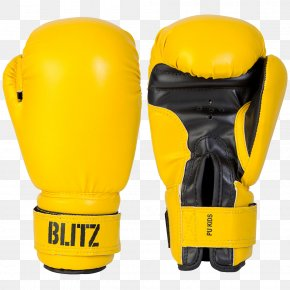 Yellow Boxing Gloves Image - Boxing Glove T-shirt PNG