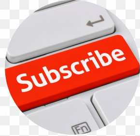 Subscribe Button Youtube Transparent - Brand Product Design Font PNG