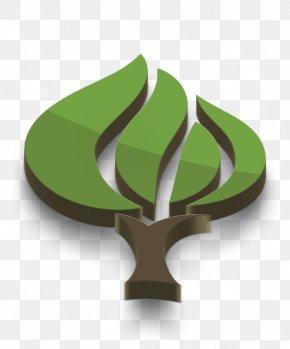Plant Symbol - Green Leaf Logo PNG