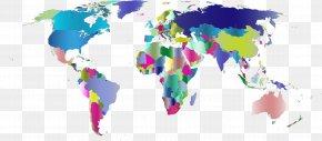 World Map - World Map Globe World War PNG