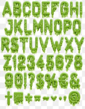 Monster Letter - Typeface Letter Typography Font Family Font PNG
