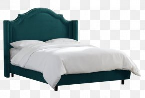 Bed - Bed Frame Headboard Furniture Tufting PNG