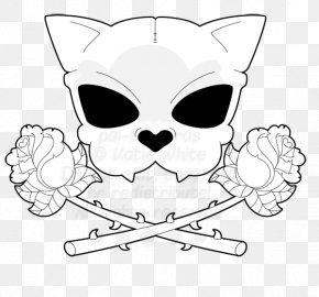 Cat - Cat Skull Calavera Drawing Clip Art PNG