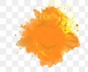 Yellow Background - Smoothie Orange Juice Pecan Pie Drink PNG