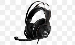 Headphones - Kingston HyperX Cloud Revolver Headset Kingston HyperX Cloud II PNG