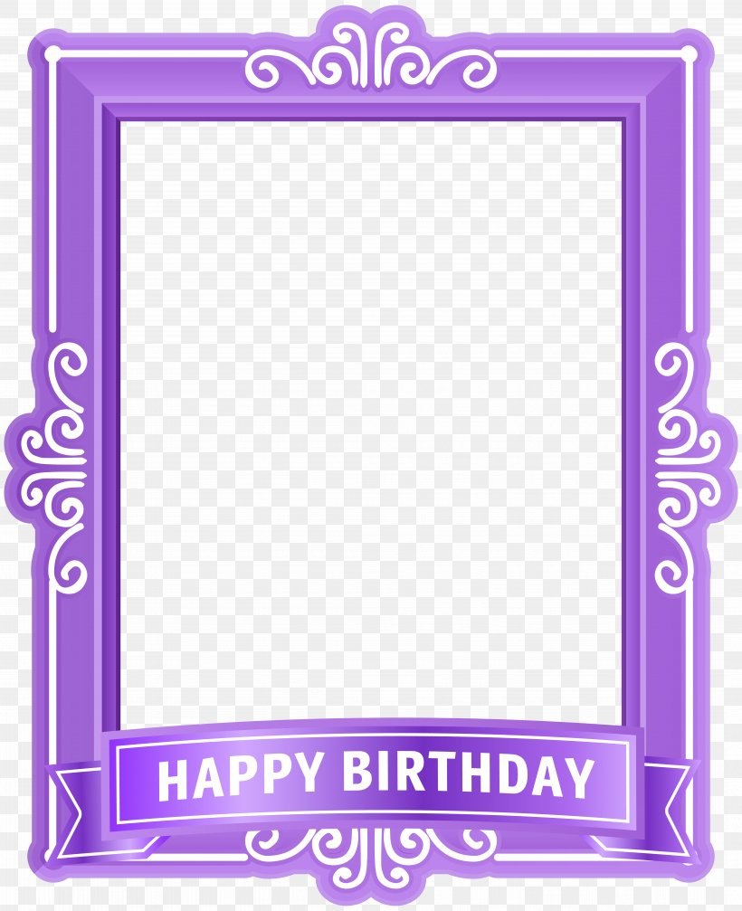 Text Picture Frame Purple Pattern, PNG, 8352x10258px, Birthday, Area, Balloon, Centrepiece, Craft Download Free