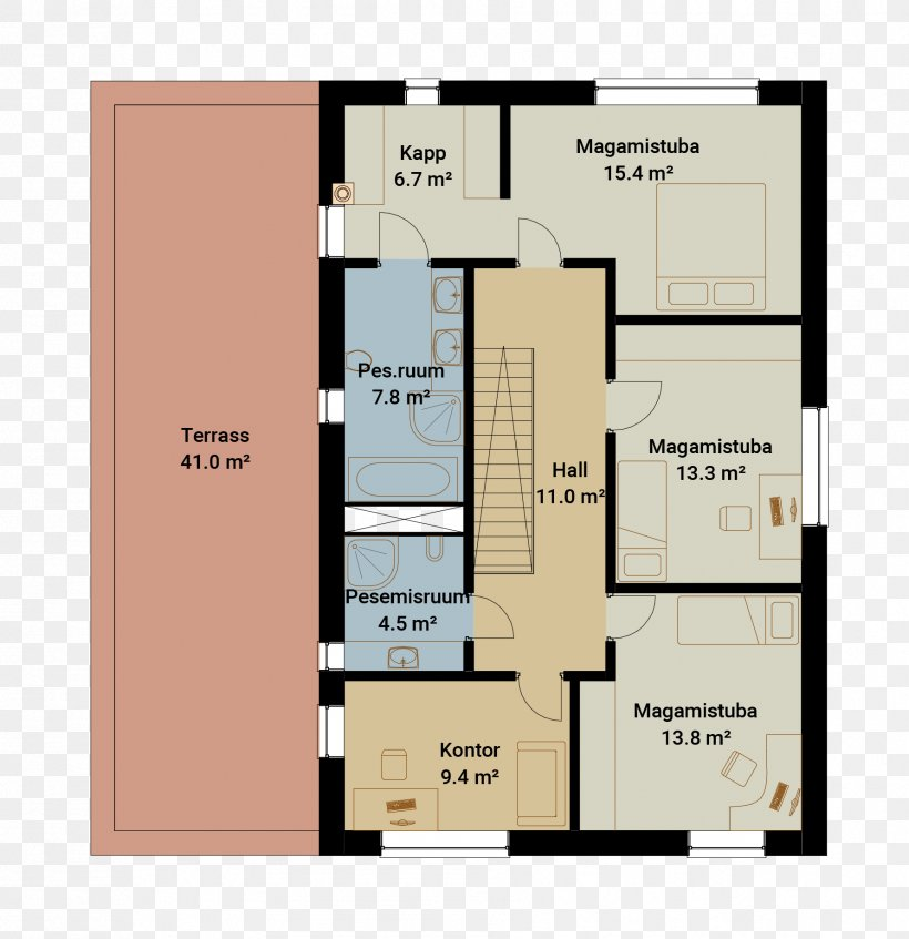Floor Plan House Seve Ehitus AS
