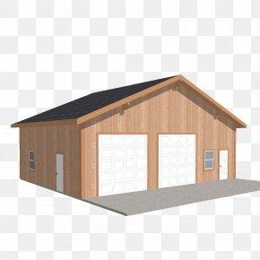 Building - Shed Garage Engineered Wood Pole Building Framing PNG