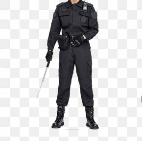 The Man In The Security Suit - Clothing Sleeve Security Suit PNG