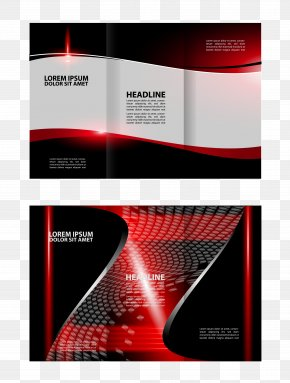 Vector Light Effect Background Folding - Light Graphic Design Red PNG