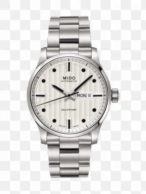 Watch - Mido Automatic Watch Clock Swiss Made PNG