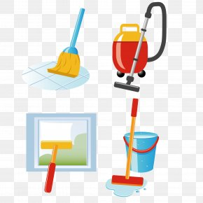 Health Clean Vector Illustration - Cleaning Vacuum Cleaner Laundry Clip Art PNG