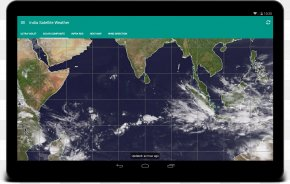 India - Satellite Imagery Weather Satellite India Weather Map PNG
