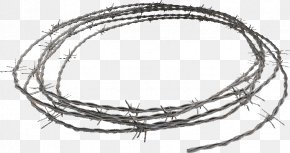 Barbed Wire - Barbed Wire Interlacing Clip Art PNG