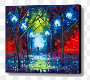 Canvas Print - Modern Art Painting Canvas Print Fine Art PNG