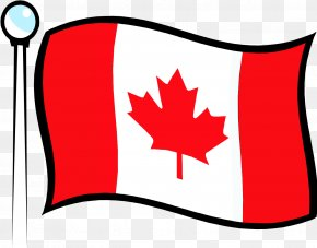 Canadian Flag - Flag Of Canada Flag Of The United States Clip Art PNG