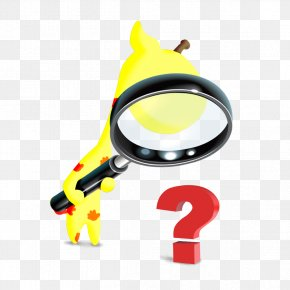 Holding A Magnifying Glass Deer - Magnifying Glass Lens Clip Art PNG