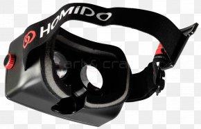 Virtual Reality Headset EVO - Goggles Homido V1 Virtual Reality Headset PNG