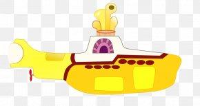 Cartoon Submarine - Yellow Submarine The Beatles Clip Art PNG