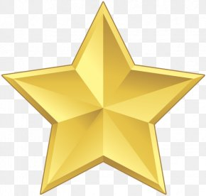 Star - Star Gold Yellow PNG