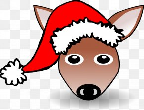 Christmas Hats Clipart - Santa Claus Cartoon Santa Suit Clip Art PNG
