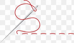 Needle Clip Art - Clip Art Vector Graphics Hand-Sewing Needles Stitch PNG