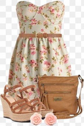 Bra Floral Dress - Dress Fashion Designer Casual Clothing PNG