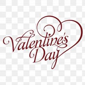 Red Valentine Font Design - Valentines Day Heart Font PNG