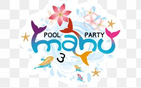 Pool Party - Desktop Wallpaper Brand Clip Art PNG